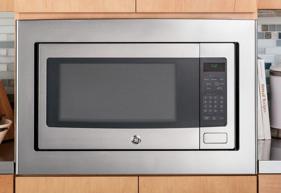 100 images cabinet microwave oven